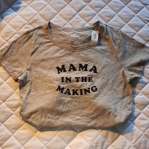 NWT Maternity Graphic Tee
